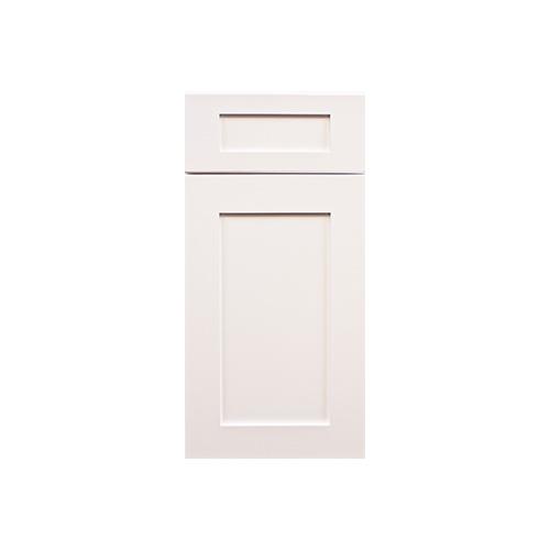 Ice White Shaker Door Sample Wood Cabinet Factory