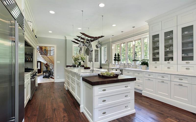 Nexus Frost modern white cabinet